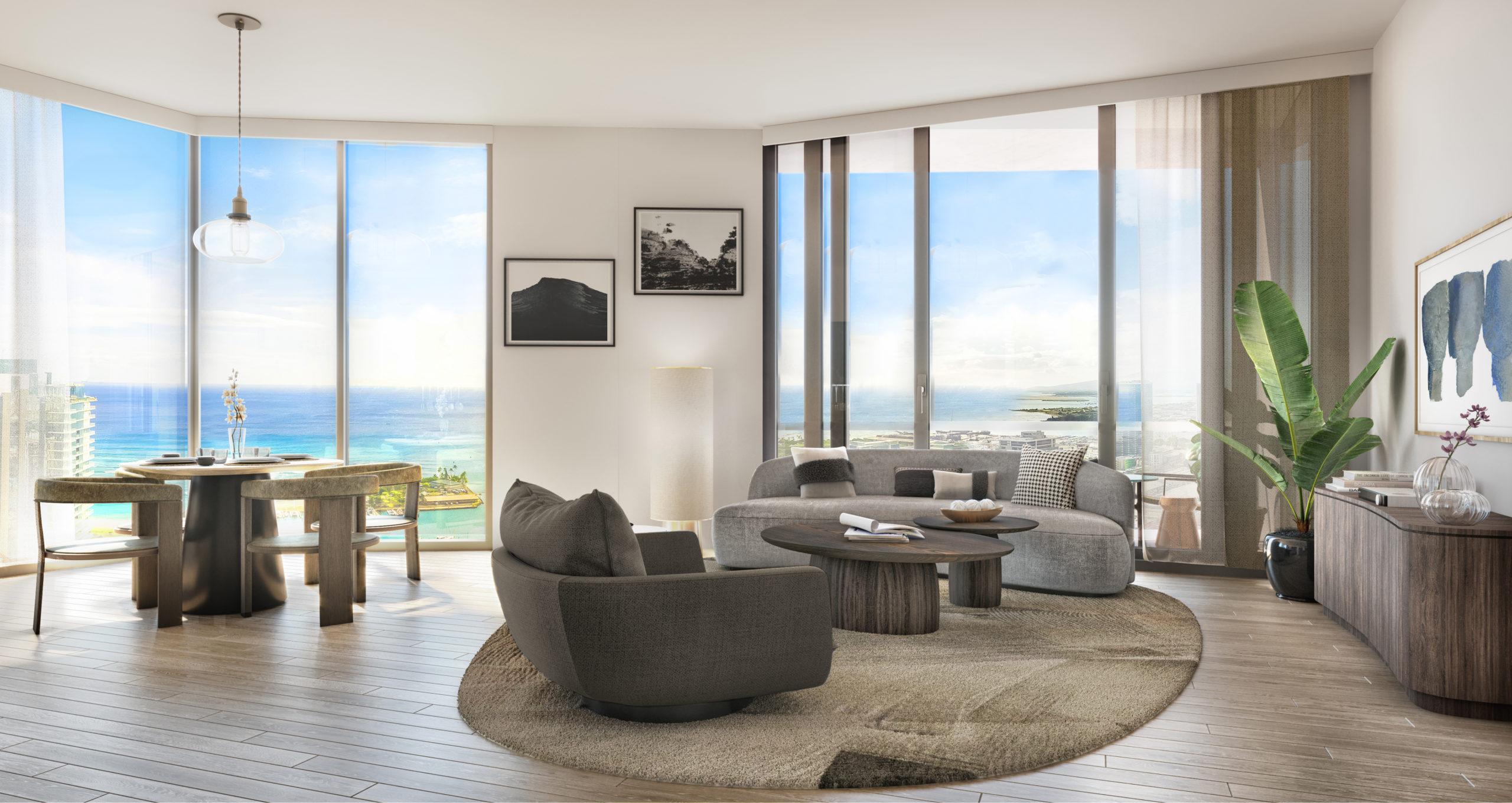 Koula Residence 3A Living Room